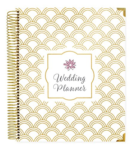 (bloom daily planners Undated Wedding Planner - Hard Cover Wedding Day Planner & Organizer - 9