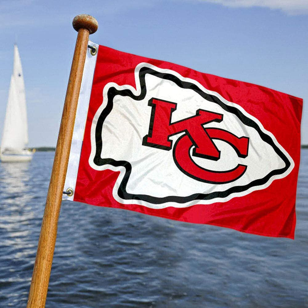Kansas City Chiefs barco y bandera de carro de golf: Amazon.es: Deportes y aire libre