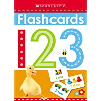 Write and Wipe Flashcards: 123 (Scholastic Early Learners)
