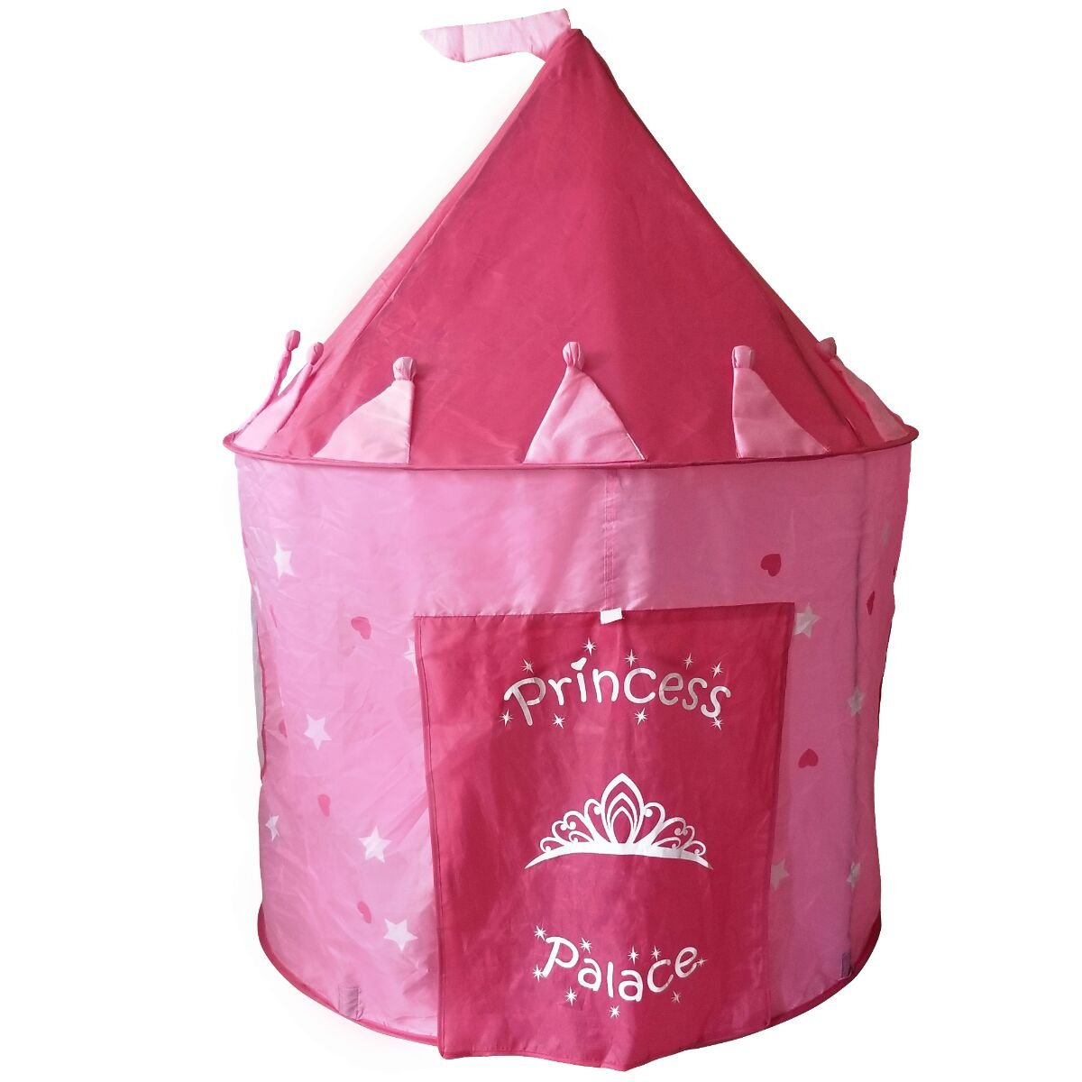 Kids Toy Play Tent For Girls | Pink Princess Palace Castle ...