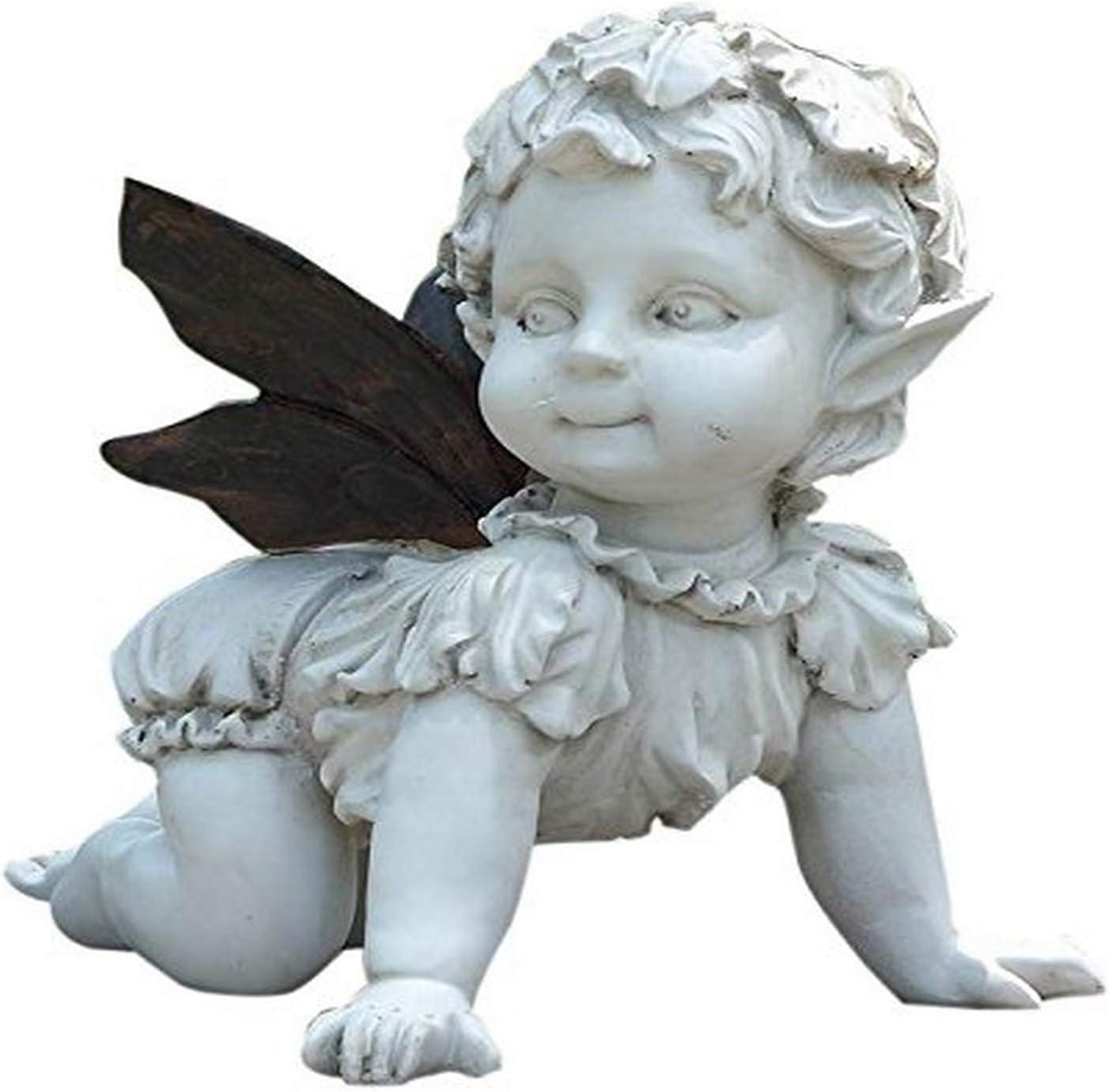 Hi Line Gift Ltd Crawling Baby Fairy Garden Outdoor
