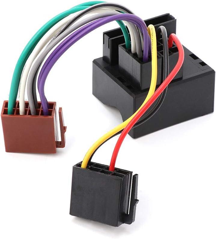 Adaptador de cable de cable de radio estéreo de coche para Peugeot 207 307 407