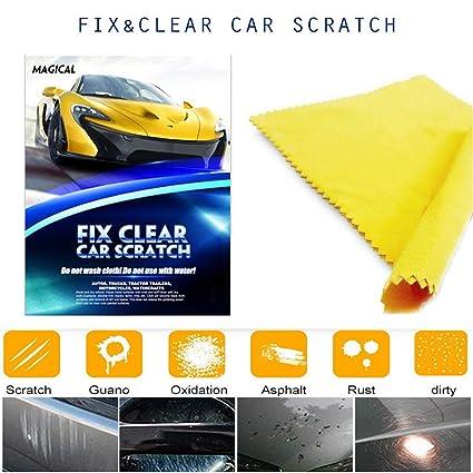 Mookis Car Scratch Remover Cloth, Fix Clear Car Paint Scratch Repair Cloth  for Light Paint Scratch and Scuffs