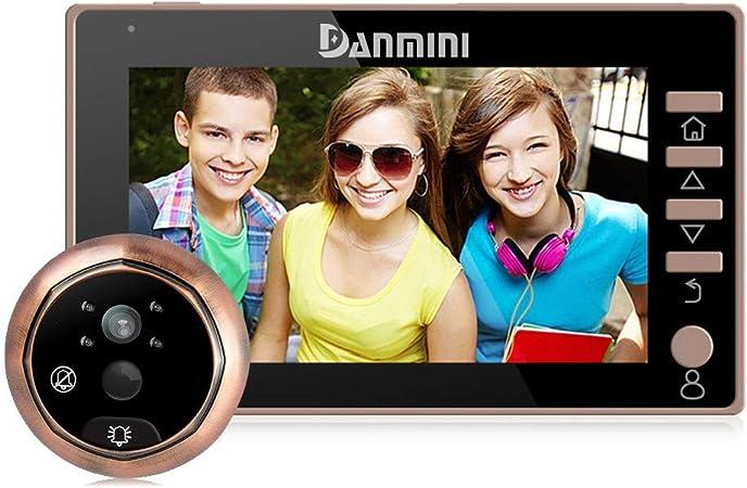 Opinión sobre YLXD Videoportero Timbre de Video,Visor Digital de Puertas, Mirilla, WiFi Smart Home,Gran Angular de 170 Grados, Alarma antirrobo,Pantalla a Color de 4.5 Pulgadas HD,monitoreo del hogar