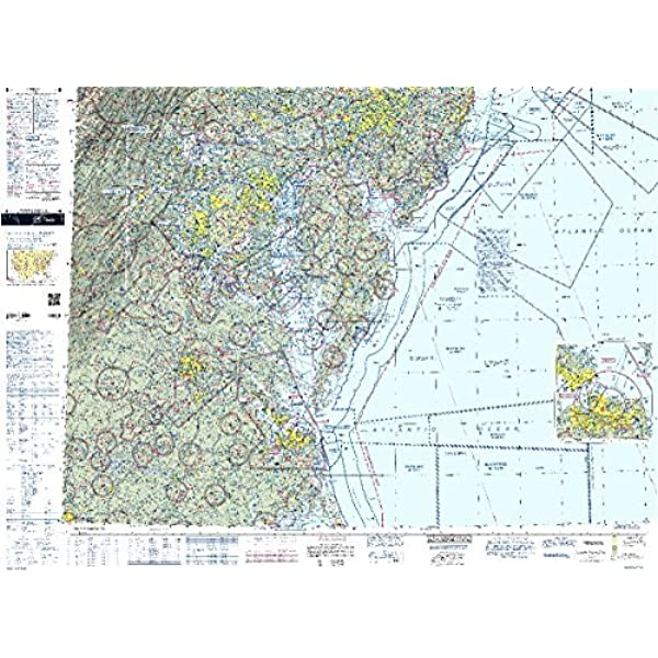 Amazon Com Faa Chart Vfr Sectional Washington Swas Current Edition Gps Navigation