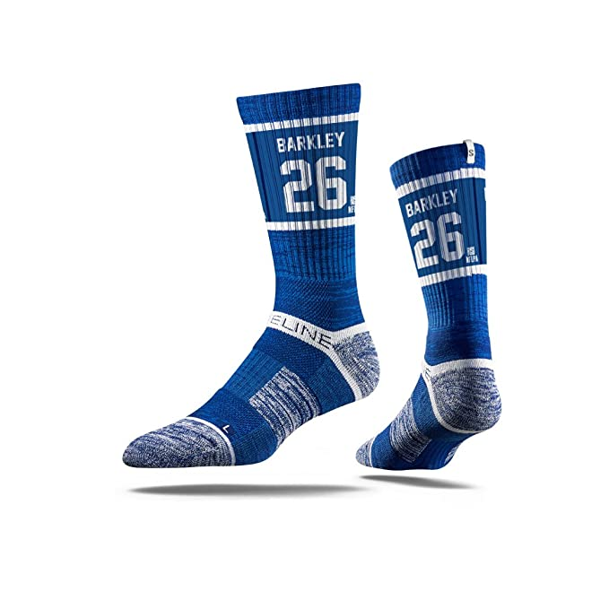 85d951ec6c57d Amazon.com: Saquon Barkley #26 New York Giants Youth Strideline ...