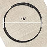 Rebar Ring #4 16'' Diameter with Overlap - Pack of 10