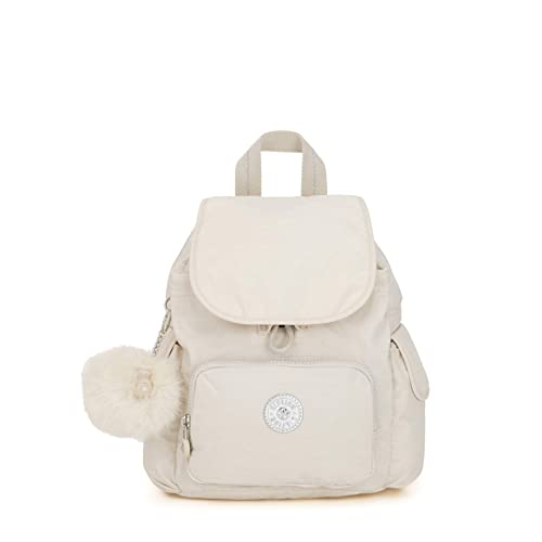 afc6bb05ef Kipling City Pack Mini - Zaini Donna, Bianco (Dazz White): Amazon.it ...