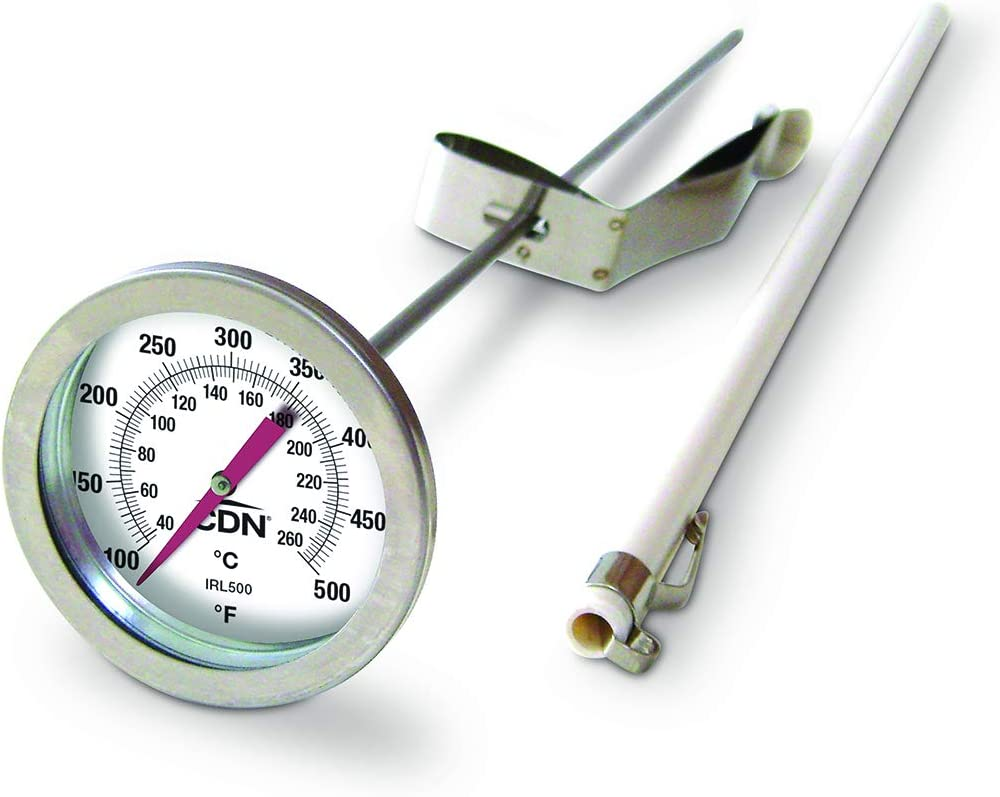 "CDN IRL500 Long Stem Fry Thermometer – 12"": Kitchen & Dining"