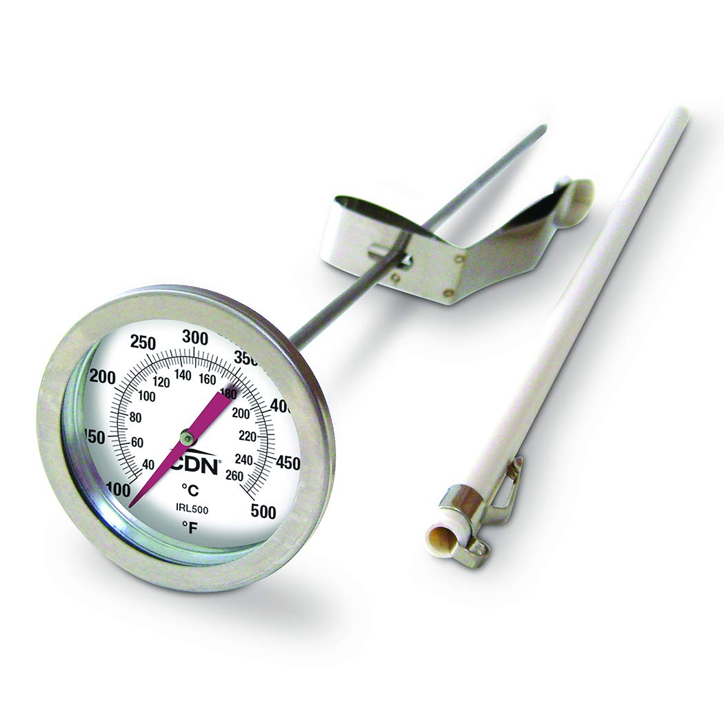 CDN IRL500 Long Stem Fry Thermometer - 12'' by CDN