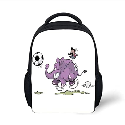 Amazon.com  iPrint Kids School Backpack Elephant 6a06796854666