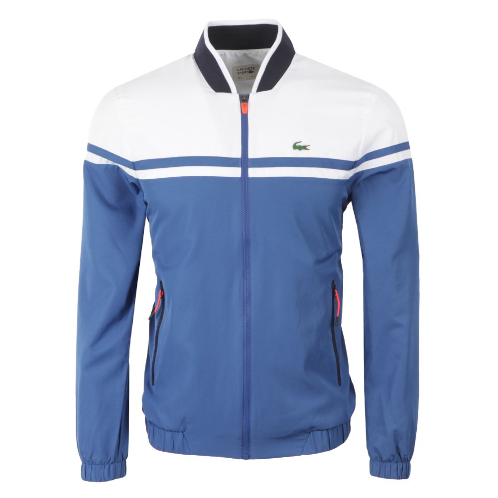 Lacoste Sport Chándal para Hombre, Color - Blau - weiß - Marine ...
