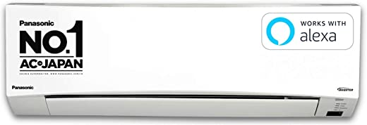 Panasonic 1 Ton 3 Star Wi-Fi Inverter Split AC (Copper, PM 2.5 Filter, 2020 Model, CS/CU-SU12WKYW, White)