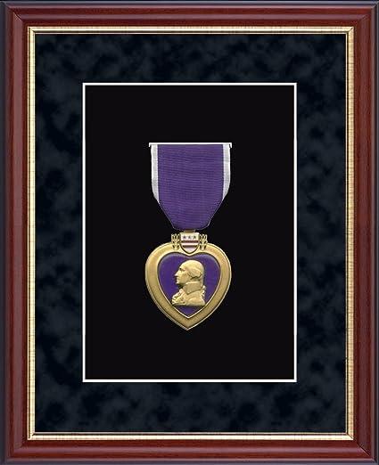 Amazon.com - Purple Heart Medal Display Frame - Museum-Quality ...