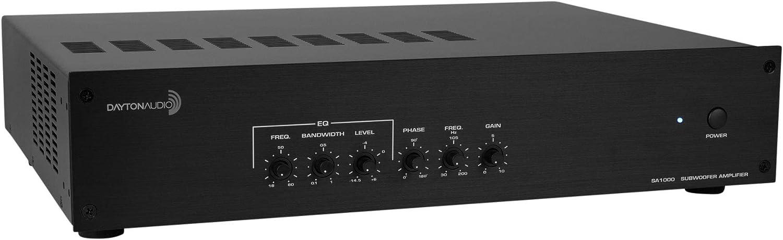 Dayton Audio SA1000 Subwoofer Amplifier Rack Mountable