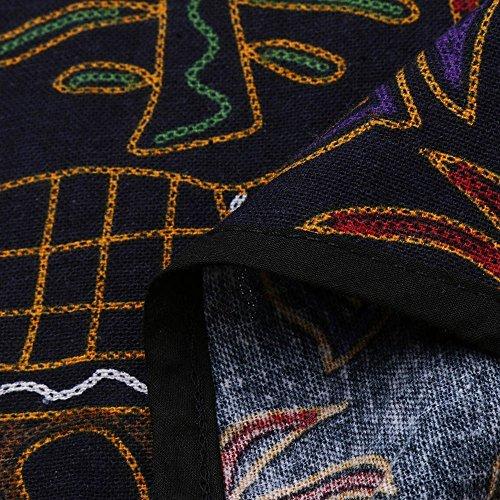 Ourlet Blouse irrgulier Lache Femme Chemise Tops Shirts Femme Longues Chemisier lache Shirt Ourlet Noir Chemisiers Weant Blouse T Imprim U Col Manches Femmes Floral w7S8Sz