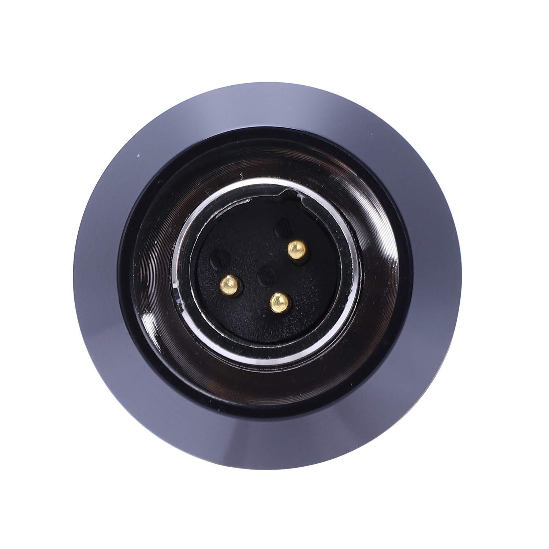 Noir TOOGOO BM 800 Microphone Capacitif Karaok/é avec Kit De Microphone Micro-/à Condensateur pour Montage sur Choc pour Enregistrement du Son par La Radio KTV Chant