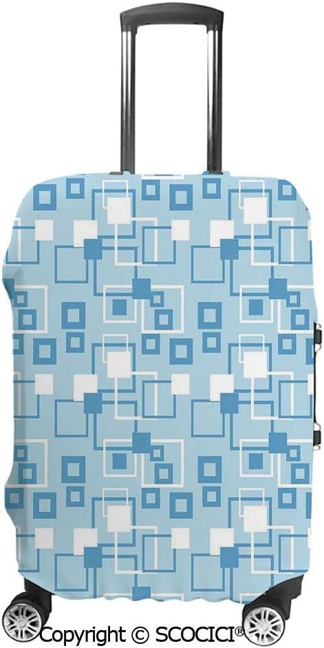 SCOCICI Flourishing Rural Yard Fragrant Gardening Plants Botany Farm Organic Flora Luggage Case Protective Baggage Suitcase Cover for 19-32 Luggage