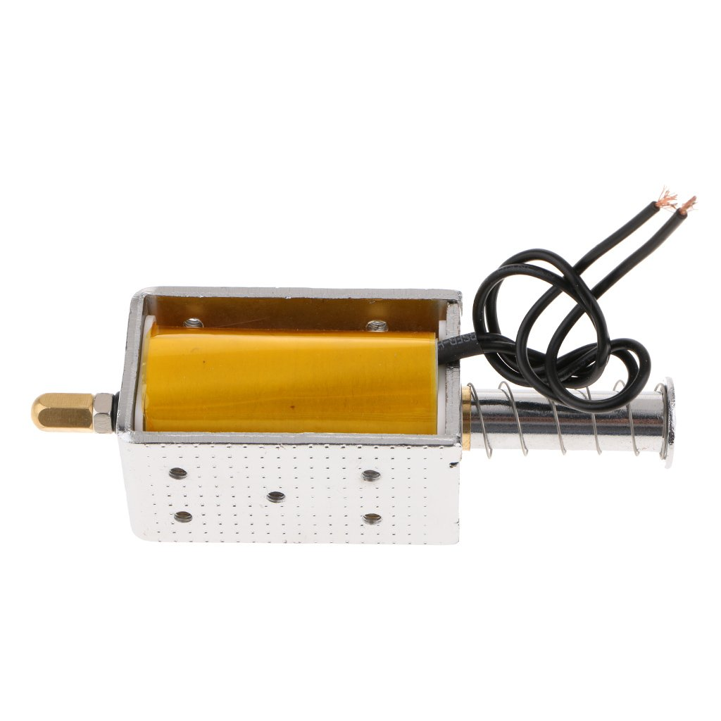 MagiDeal DC 220v 34.5mm Actuador Push-Pull Tipo De Marco Electroim/án Solenoide El/éctrico
