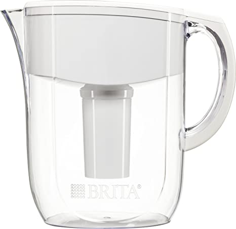 Amazoncom Brita Large 10 Cup Water Filter Pitcher With 1 Standard