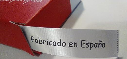 Personal Labels 100 Etiquetas para Coser Fabricado EN ESPAÑA con dispensador: Amazon.es: Hogar
