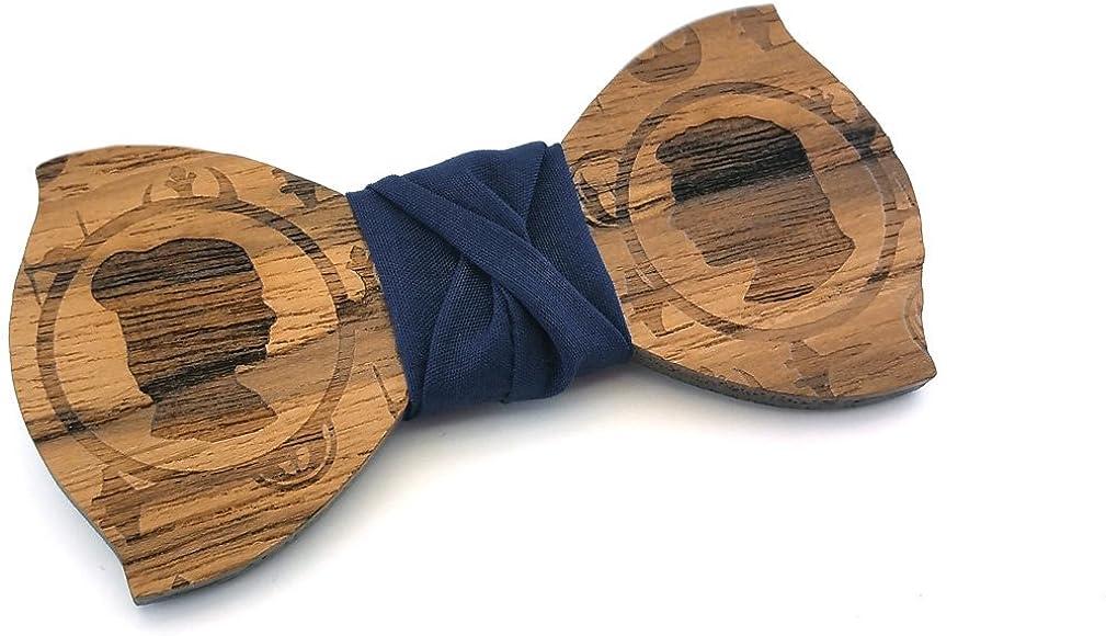 GIGETTO Pajarita de madera, Hombres, Lazo de madera, Boda, Corbata ...