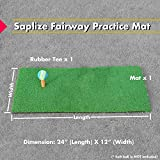 SAPLIZE Golf Hitting Net Training Aids Practice