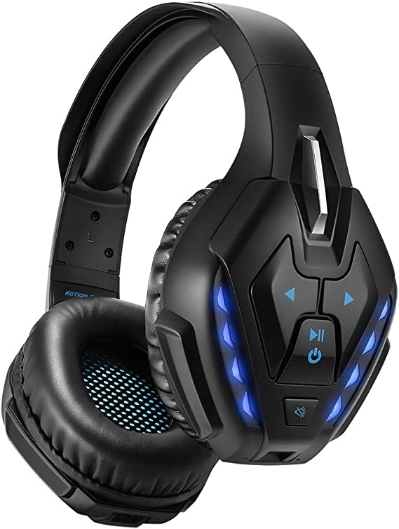 PHOINIKAS Detachable Wired Over Ear Gaming Headset for PS4
