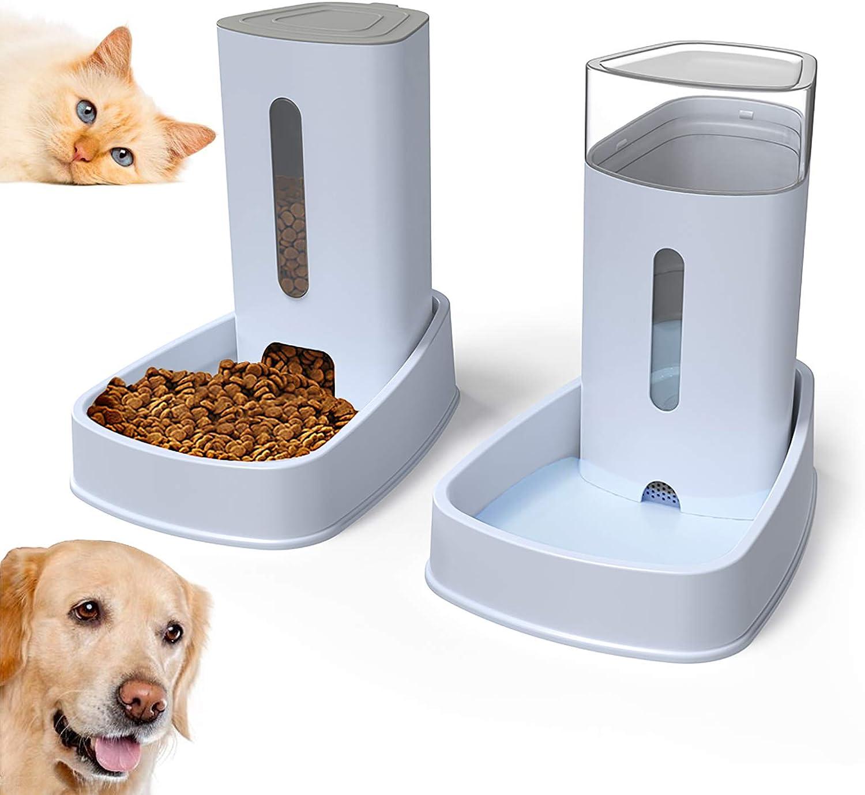 Comedero y Bebedero Automático para Perros y Gatos