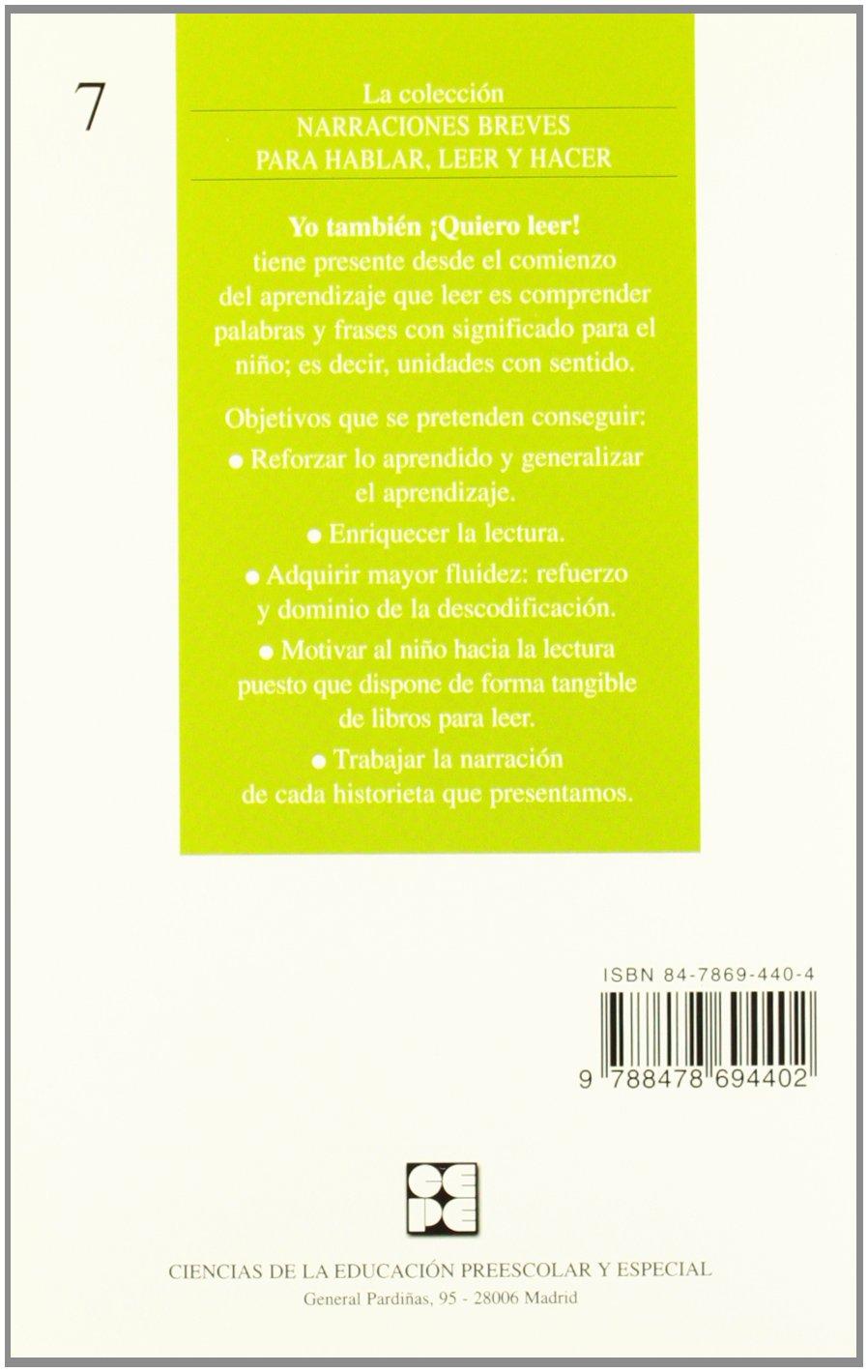 1: Libro de lectura Narraciones breves para hablar, leer y hacer:  Amazon.es: Eva De Santos Sanz, Elena Rodríguez Mahou: Libros