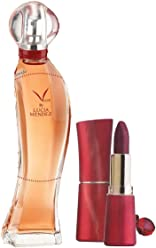 Armand Dupree Vivir by Lucia Mendez 2-piece Fragrance Gift Set (Lipstick Color: