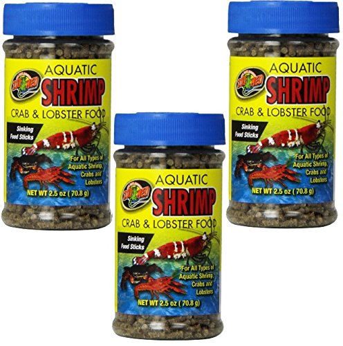 (3 Pack) Aquatic Shrimp Crab and Lobster Food (Aquatic Shrimp Crab)