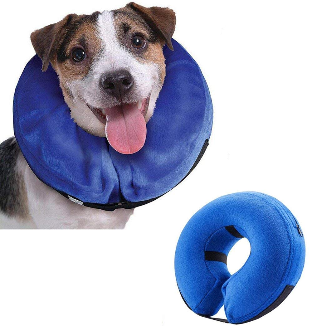 Emwel Collar hinchable para perros grandes, cómodo collar ...