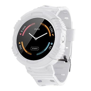 moretek reloj inteligente banda pulsera de correas de repuesto para moto 360 Primera Generación Tracker