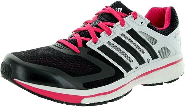 inteligente Tableta encuesta  Adidas Supernova Glide 6 Black1/black1/runwhite Running Shoe 9 Us:  Amazon.co.uk: Shoes & Bags