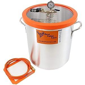 Best Value Vacs 10 Gallon Aluminum Vacuum Chamber