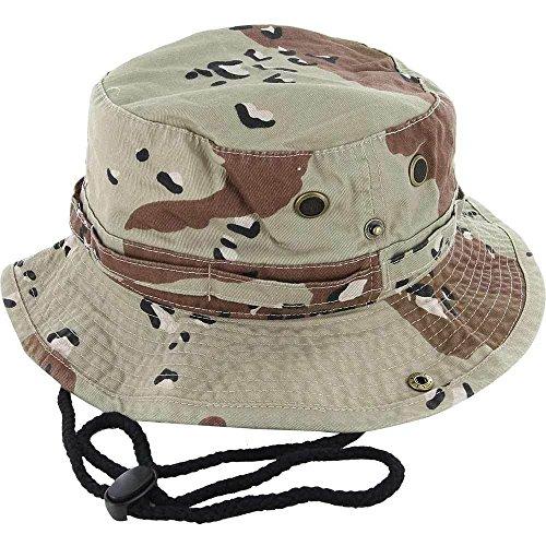 D.Camo_(US Seller)Cotton Hat Boonie Bucket Cap Summer Men