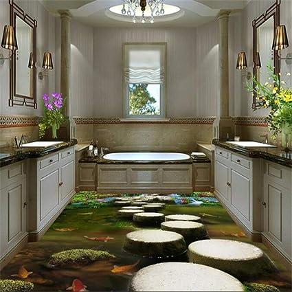 Pietra molo camera da letto bagno 3d piastrelle per pavimenti ...