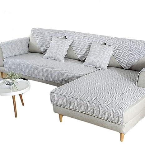 HInmdLndsj 100% de algodón Natural Fundas de sofá,Toalla de ...