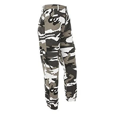 727b5b0b1be Amazon.com  Wondere Camouflage Pants For Women Cargo