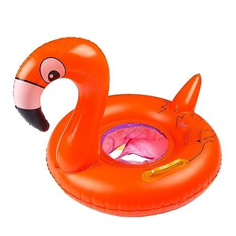 haodasi más grueso asiento hinchable natación Anillo bebé Flotador barco para niños aprender natación con Red
