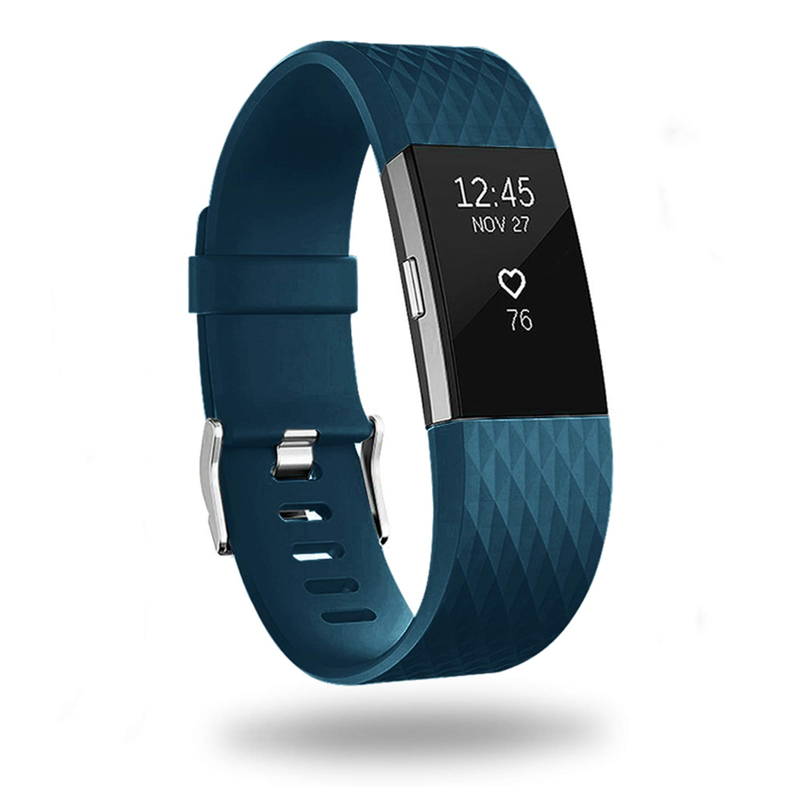Malla Large para Fitbit Charge 2 Azul oscuro -7D3S7TRK