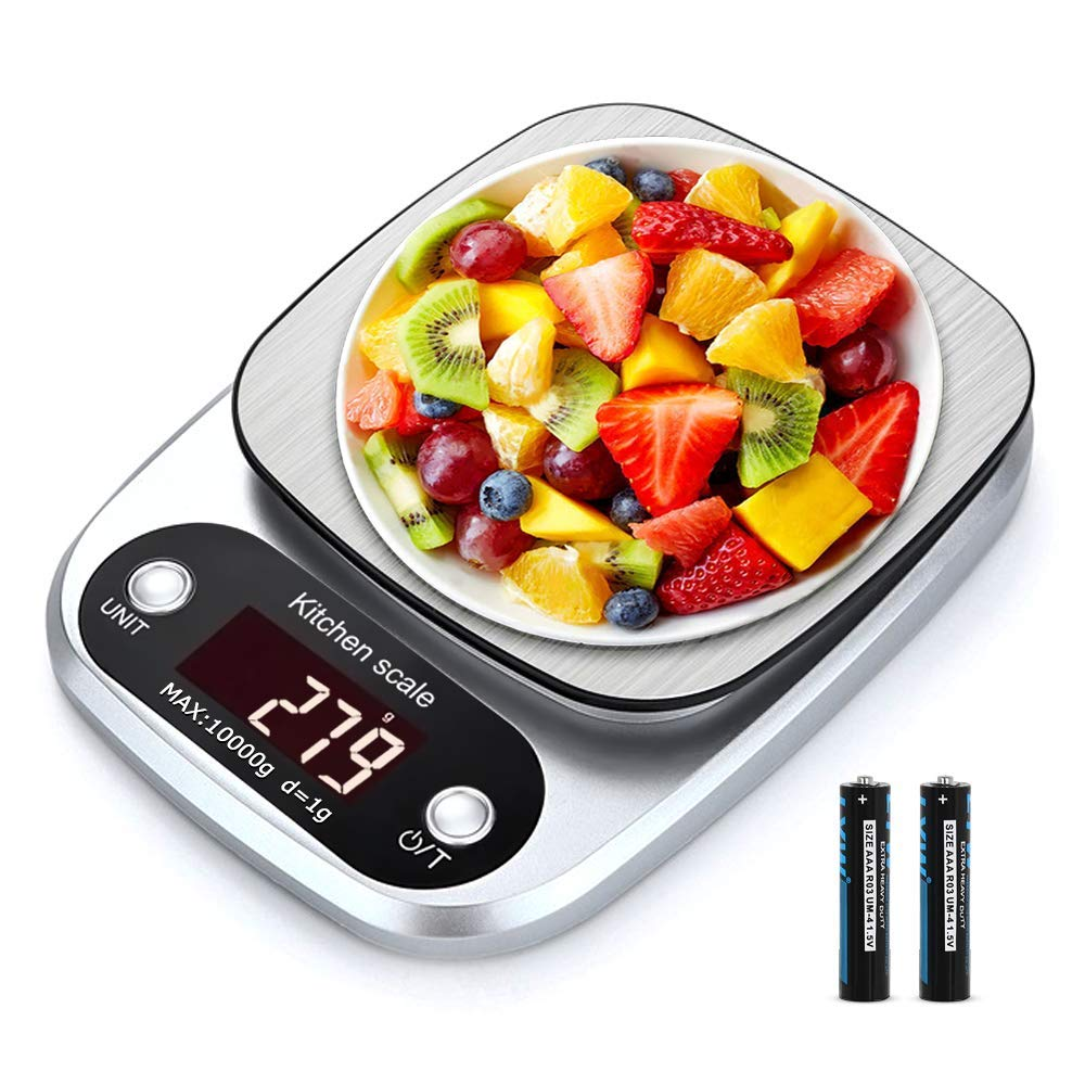 Force24 Digital Kitchen Scale & Food Weight Machine