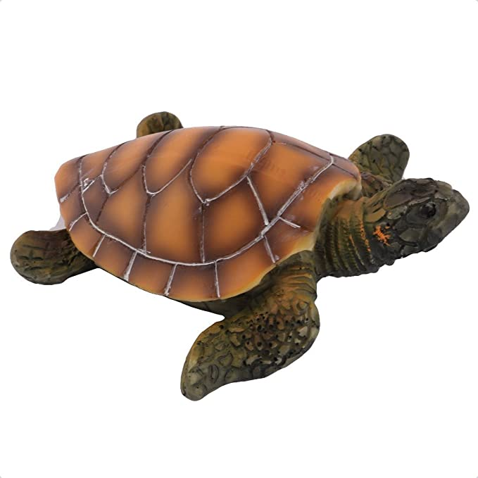 Amazon.com: eDealMax Resina tanque del acuario Bajo el agua Artificial Tortuga paisaje decoración del ornamento: Pet Supplies