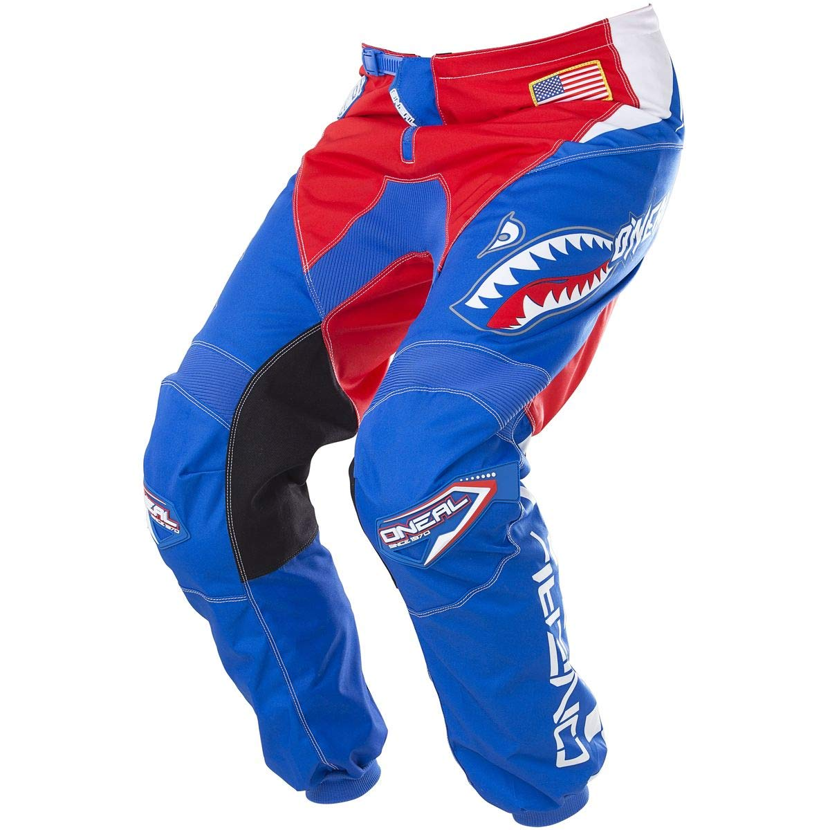 Blue//Red, 28 ONeal Element Mens Afterburner Pant