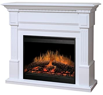 Amazon.com: Dimplex Sussex Electric Fireplace in White: Home & Kitchen