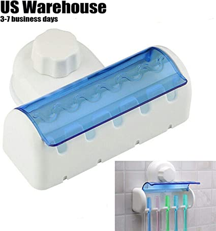 Toothbrush Spinbrush Suction Holder Wall Mount Stand Rack Home Bathroom Supply