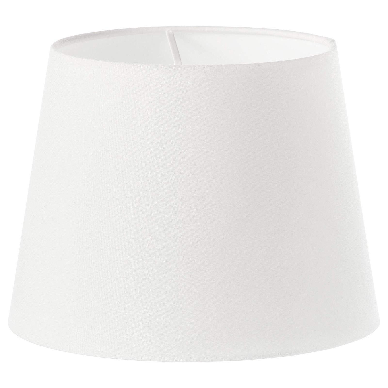 Kanstar Lamp Shade 8.5''x12''x8.5'' (Linen White)