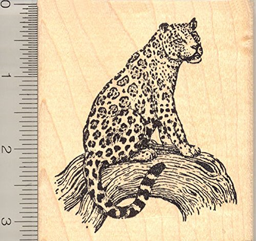 Jaguar Rubber Stamp