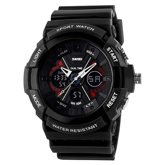 SKMEI Unisex Moda Deporte Reloj analógico/Digital Resistente ...
